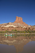 Kelly Photo Prints - A Butte along the Green River Print by Tim Grams