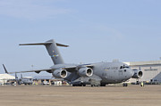 A C-17 Globemaster IIi Parked Print by Stocktrek Images