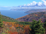 A Cape Breton Autumn Print by George Cousins