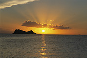 British Virgin Islands Prints - A Caribbean Sunset Print by Heather Perry