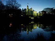 Central Park Photos - A Castle in Reflection by Cornelis Verwaal