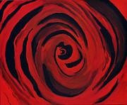 A Centered Rose... Print by Tanya Tanski
