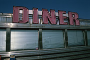 Seaford Photo Prints - A Classic Diner Sign To Pull In Hungry Print by Stephen St. John