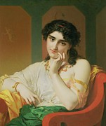 Bracelet Paintings - A Classical Beauty by Oliver Joseph Coomans