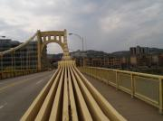 Roberto Clemente Bridge Photos - A Confounded Bridge by Jacob Stempky