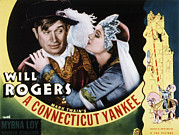 Vamp Prints - A Connecticut Yankee, Will Rogers Print by Everett