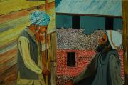 Kashmir Painting Originals - A conversation by Harpreet Singh