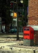 Postal Originals - A corner in Edmonton by Mario Brenes Simon