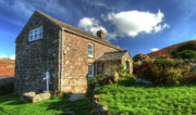 Country Cottage Prints - A Cornish Cottage   Print by Rob Hawkins