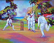 Glenford John - A cricket game