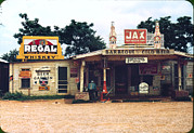 """juke Joint"" Framed Prints - A Cross Roads Store, Bar, Juke Joint Framed Print by Everett"