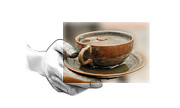 Photograph Mixed Media Posters - A Cup of Tee Poster by Stefan Kuhn