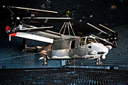 Eglin Framed Prints - A Cv-22 Osprey Hangs In A Anechoic Framed Print by Stocktrek Images