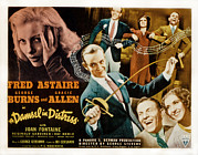 Gracie Framed Prints - A Damsel In Distress, Joan Fontaine Framed Print by Everett