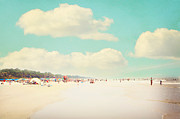 Hilton Head Prints - A day at the beach Print by Kim Fearheiley