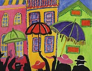 Happy Posters Originals - A Day In Paris by Connie Valasco