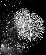 Fireworks Prints - A Day to Celebrate Print by Julie Lueders