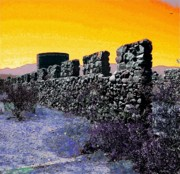 Purple Sky Posters - A Desert Host 2 Poster by Glenn McCarthy Art and Photography