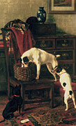Dog Prints - A Discreet Inquiry Print by Rupert Arthur Dent