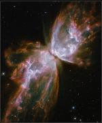 Nasa Art - A Dying Star In The Center by Nasa/Esa