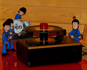 Beatles Photos - A fab still life yeah yeah yeah by Joe Wicks