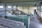 Manufacturing Photos - A Factory Floor A Processing Plant by Jaak Nilson