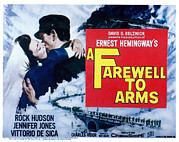 Embracing Posters - A Farewell To Arms, Jennifer Jones Poster by Everett