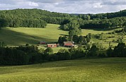 Cooperstown Posters - A Farm Near The Headwaters Poster by Raymond Gehman