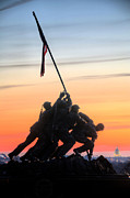 Iwo Jima Monument Framed Prints - A Few Good Men Framed Print by JC Findley