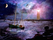 Photo Manipulation Originals - A Fishermans Tale by Susie  Hawkins