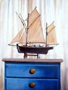 Delacroix Framed Prints - A Fishin Boat Right outside of Delacroix Framed Print by Tim Johnson