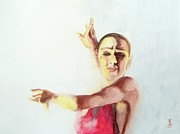 A Flamenco Dancer Print by Yoshiko Mishina