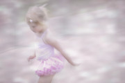 Child Ballerina. Photos - A Fleeting Memory  by Robin Webster