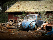 Junk Photos - A Forgotten 67 Bug by Michael David Sorensen