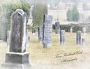 Cemetary Posters - A Forgotten Place in Time Poster by Terry Kirkland Cook