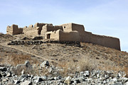 Logar Prints - A Fortified Compound In The Village Print by Stocktrek Images