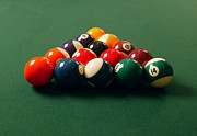 Recreational Pool Prints - A Fresh Game Of Pool Print by Design Pics
