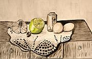 Jerusalem Paintings - A fresh lemon. by Shlomo Zangilevitch