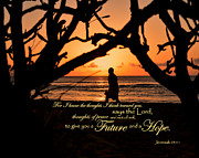 Religious Pictures Prints - A Future And A Hope Print by Jeanne Geidel-Neal