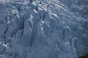 A Glacier Icefall From The Cordillera Print by Gordon Wiltsie