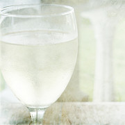 Aeve Pomeroy - A glass of chilled white...