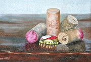 Bottle Cap Originals - A Good Year on a Good Night by Amy Higgins