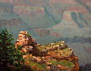 Canyon Paintings - A Grand View by Linda Hiller