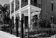 Kathleen K Parker - A Greek Revival House on Coliseum Street  New Orleans- black and white