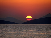 Azadeh Bostan - A Greek sunset