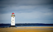 Lighthouse Art - A Guiding Light by Meirion Matthias