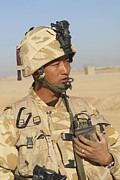 Commander Photos - A Gurkha Commander Communicates by Andrew Chittock