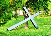 Turf Digital Art - A Heavy Cross to Bear by Steve Taylor