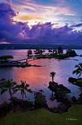 Hilo Framed Prints - A Hilo View Framed Print by Christopher Holmes