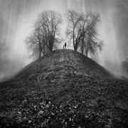 Spooky Scene Prints - A Hope For The Eternal Presence Of Distant Places Print by Ioannis Lelakis